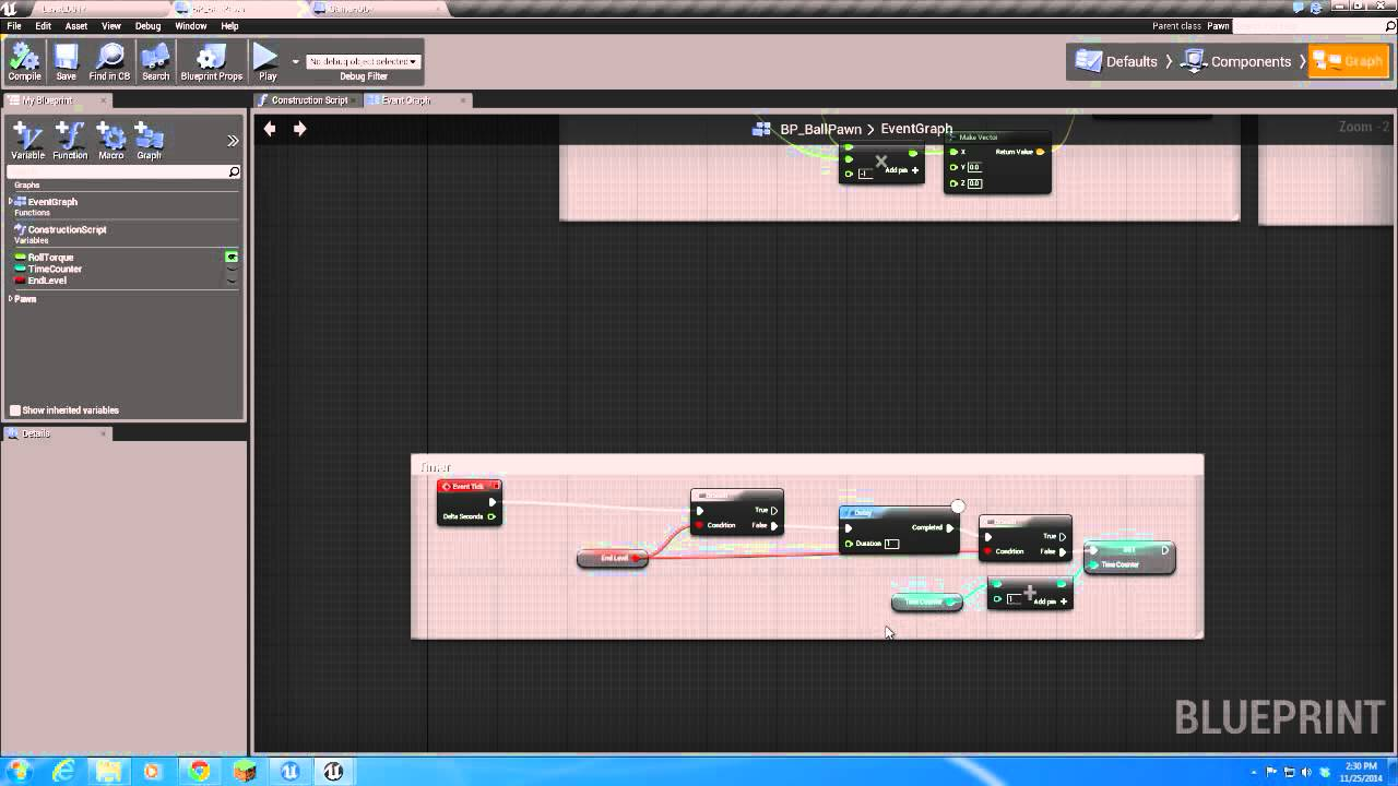 7 ue4 the first umg widget the timer youtube malvernweather Gallery