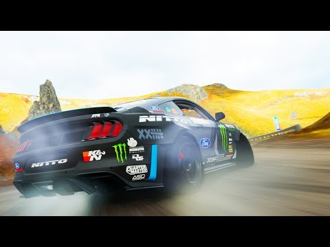 USING A PRO DRIFT TUNE ON THE NEW MUSTANG | Forza Horizon 4 thumbnail