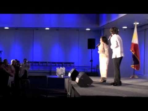 JONATHAN BADON/JENNY DELORINO sing GAANO KO IKAW KAMAHAL in Switzerland