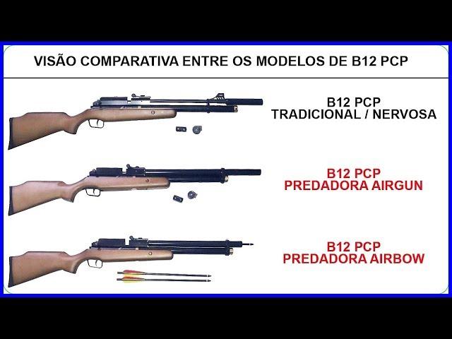 Carabina B12 PCP Predadora Airbow 5,5mm