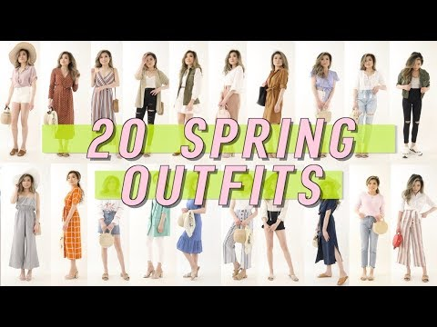 20 AFFORDABLE Spring Outfit Ideas Lookbook | Walmart Try On Clothing Haul | Miss Louie