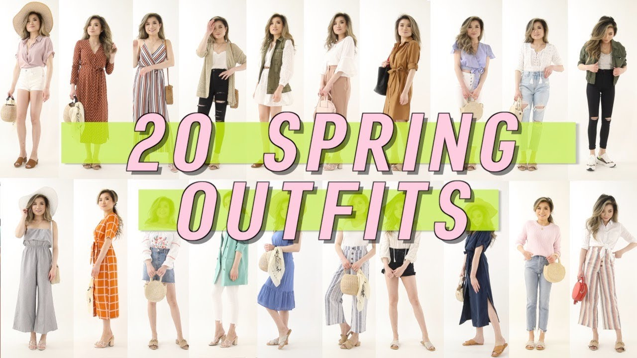 20 AFFORDABLE Spring Outfit Ideas Lookbook | Walmart Try On Clothing Haul | Miss Louie 3