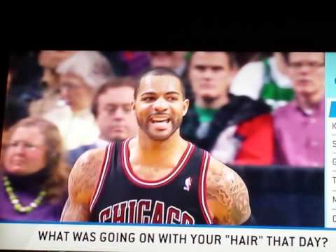 Highly questionable - Carlos boozer explains hair