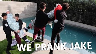 WE PRANKED HIM SO GOOD!