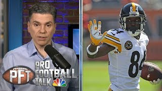 Antonio Brown's goodbye tweet heaps challenges on Steelers | Pro Football Talk | NBC Sports