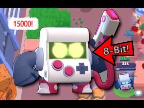 Subiendo A 15000 Copas Con 8-bit! | Brawl Stars