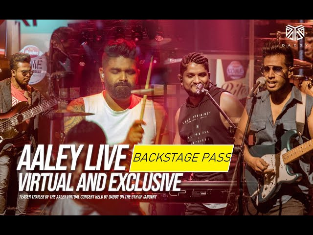 DADDY - Aaley Live Backstage Pass