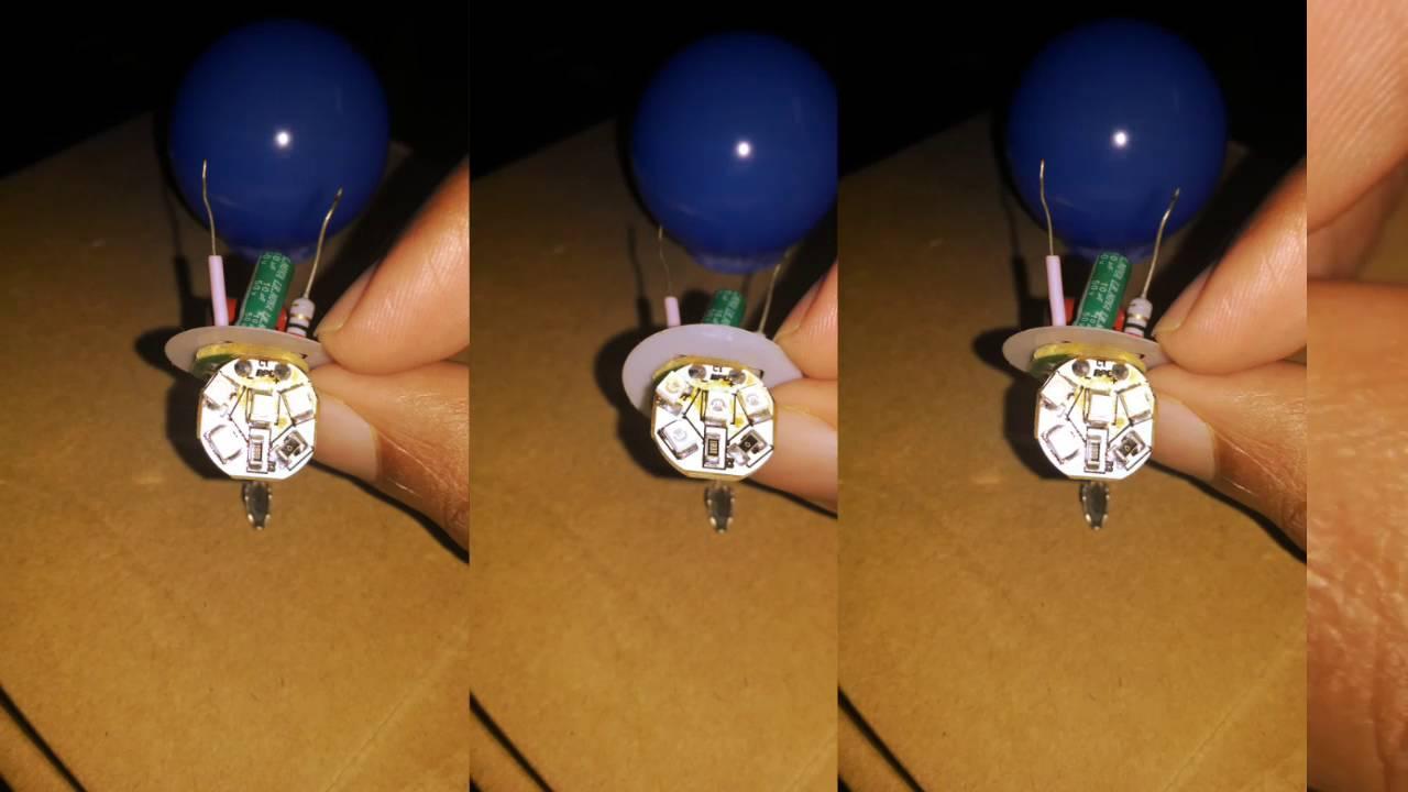 Whats inside philips 0 5W LED bulb ? (Teardown)