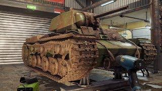 Symulator wykopywania i naprawiania czołgów - Tank Mechanic Simulator / 25.12.2019 (#1)