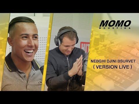 Aymane Serhani avec Momo - Nebghi Djini Bsurvet ( Version Live )