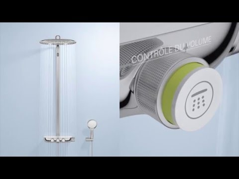26250000 grohe rainshower smart control doovi. Black Bedroom Furniture Sets. Home Design Ideas