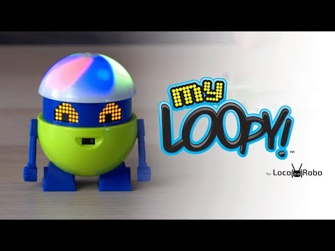 MEET MY LOOPY: YOUR NEW ROBOT FRIEND! | A Toy Insider Play by Play