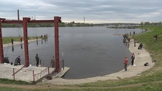 Рыбалка на реке Кострома.