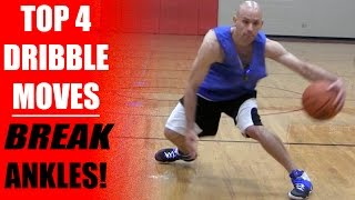 Top 4: Best Basketball Dribbling Moves - Break Ankles!