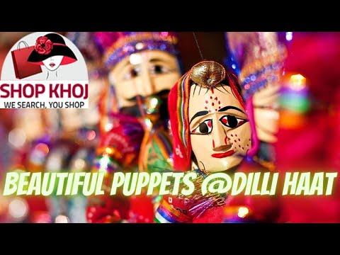 Beautiful Puppets at Dilli Haat, New Delhi