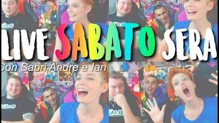 SABATO SERA IN LIVE CON VOI! giochi & divertimento ♥