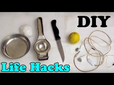 How To Clean Your White Earbuds Using Lemon - DIY(Dekhte Rahoo)