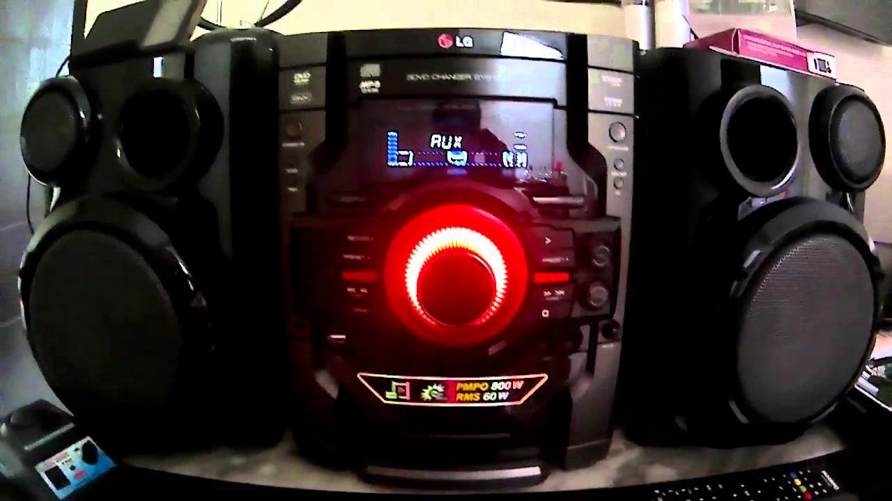 Lg Dm 5230 Dvd Mini Hi Fi System Youtube