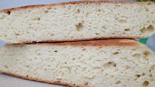 Домашний хлеб без духовки и без хлебопечки Хлеб на сковороде