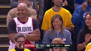 Seth Curry All Game Actions 05/16/19 Blazers vs Warriors Game 2 Highlights