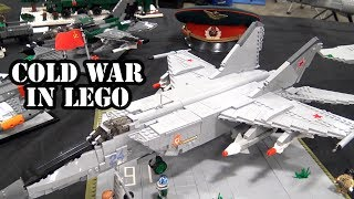 The Cold War in LEGO | Planes, Tanks, Ships, Weapons & More