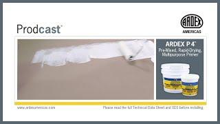 Ardex P 4 Pre Mixed Rapid Drying Multipurpose Primer