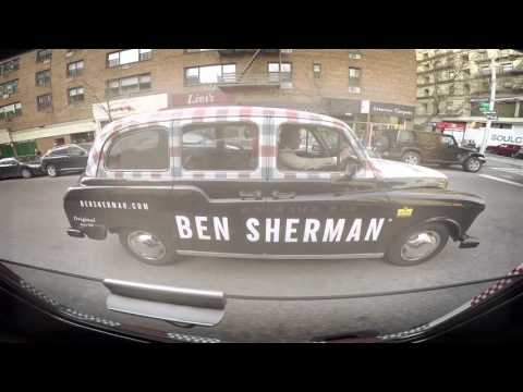 #RideWithBenSherman London Taxi Cabs in NYC