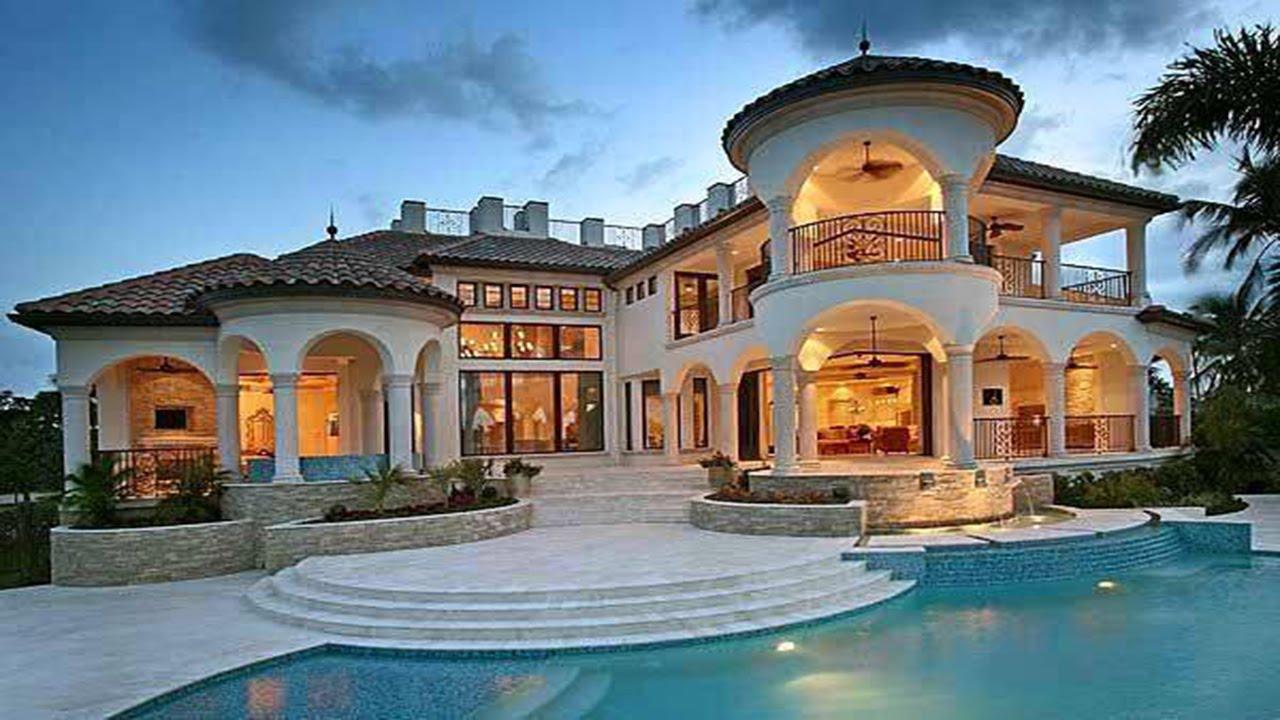 Breathtaking Mediterranean Mansion Design - YouTube