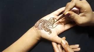 How to Mehndi Design in Hand   Step by Step Mehndi Design in Hand   Nitu