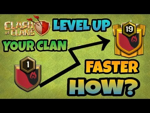 HOW TO LEVEL UP YOUR CLAN FASTER? (BEST TIPS) IN HINDI 2017 || CLASH OF CLANS