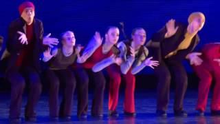 """Отчетный концерт """"Эстрадного балета """"Апельсин"""" - КИНОМАНИЯ - 1 отделение"""