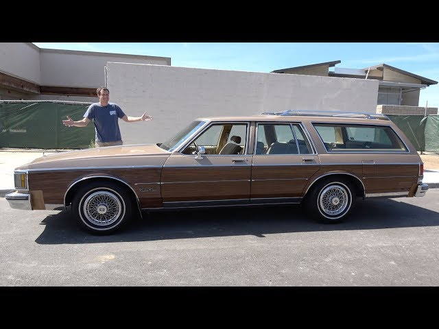 The Oldsmobile Custom Cruiser Is an Old-School Family Wagon