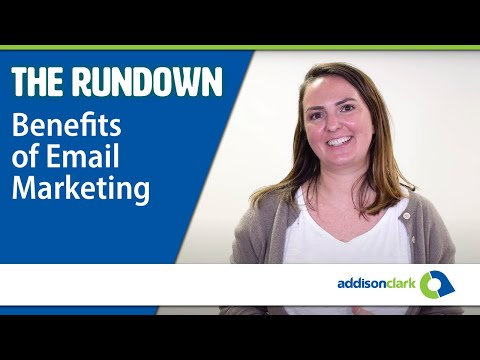 The Rundown: Benefits of Email Marketing