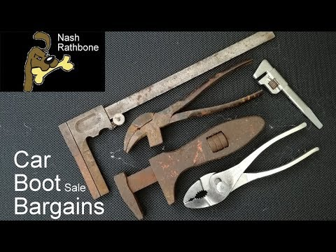 Car Boot Sale Bargains: Vintage Tools