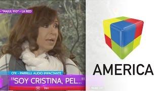 El audio de Cristina Kirchner a Parrilli