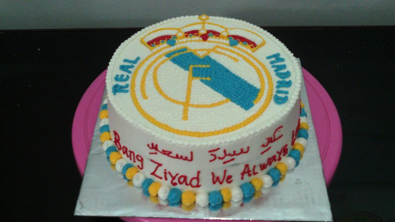 real madrid cake real madrid cake how to make 6971