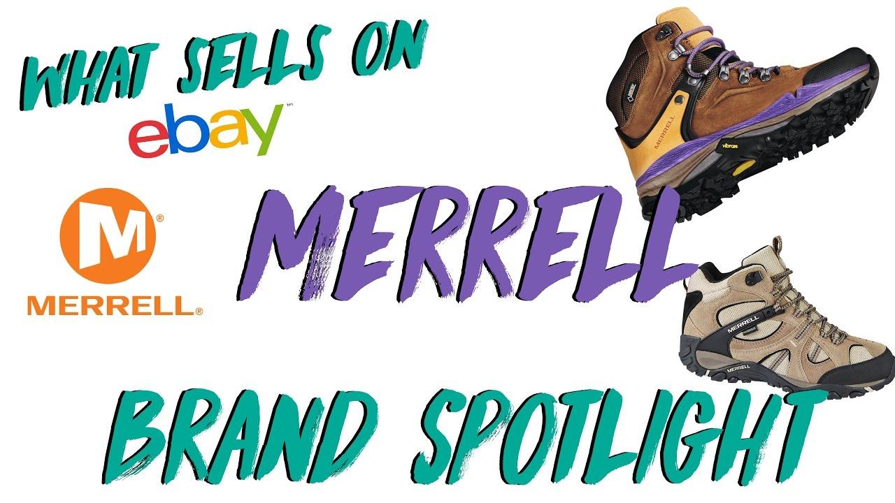 7498933adb0 What Sells on eBay Brand Spotlight  Merrell Hiking Boots - YouTube