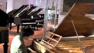 Kit Armstong performs Bach on Liszt