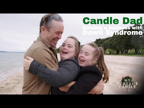 Running a business with Down Syndrome (My Perfect Family: Candle Dad)