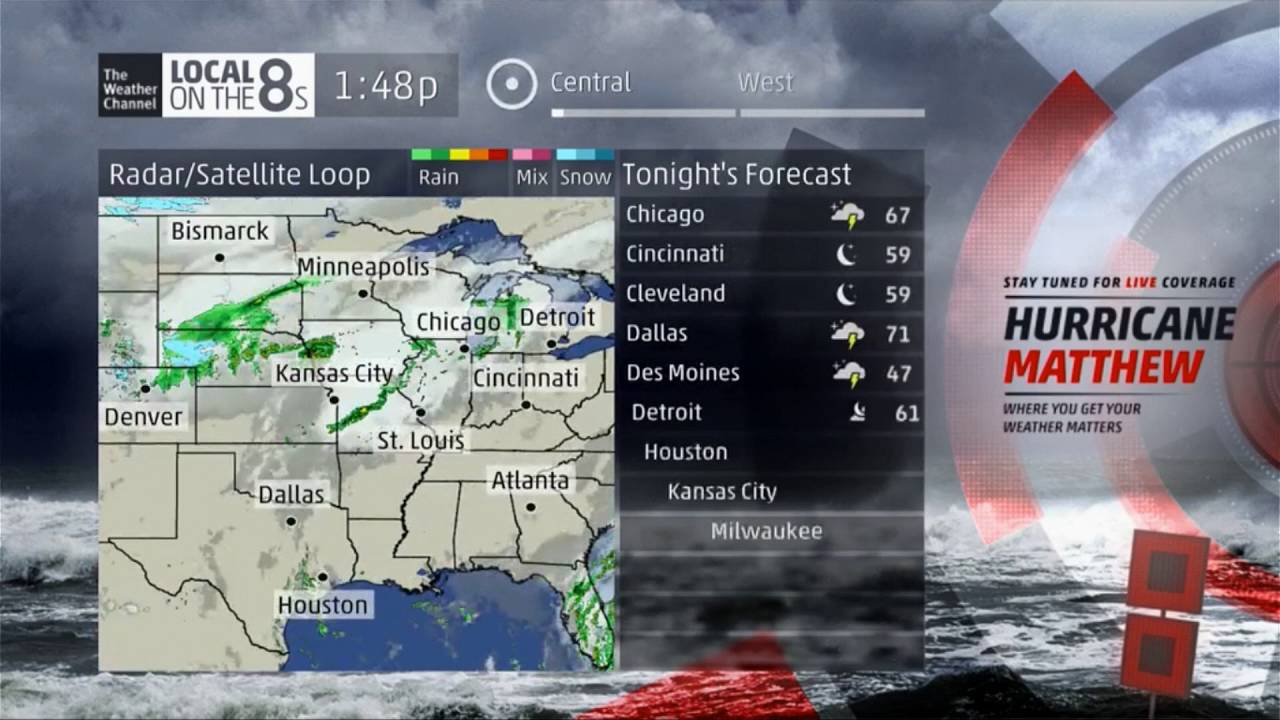 the weather channel - local on the 8 u0026 39 s 10  6  16