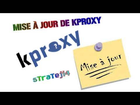 Mise à jour de Kproxy! - YouTube