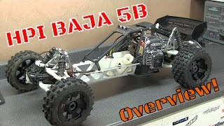 HPI Baja 5B Competition Build Overview