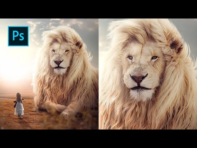 King of Beasts - Photoshop Manipulation Tutorial