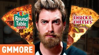 Rhett and Link stuff their faces to determine which is the superior...