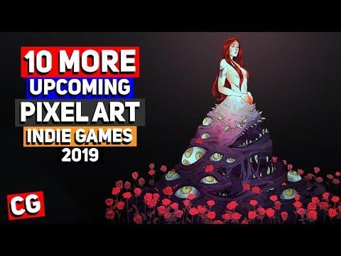 10 MORE Upcoming Pixel Art Indie Games - 2019 & Beyond!