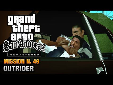 GTA San Andreas Remastered - Mission #49 - Outrider (Xbox 360 / PS3)