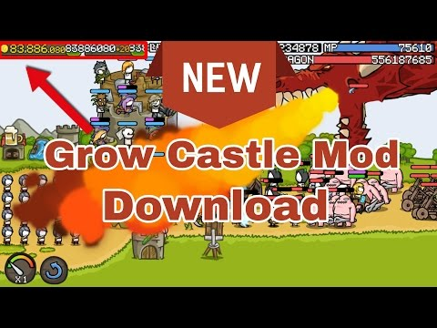 How to Hack Grow Castle Unlimited Gold & Gems | 2019