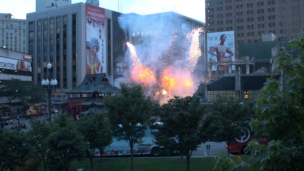 Final Day Transformers 4 Detroit Shoot - Hong Kong