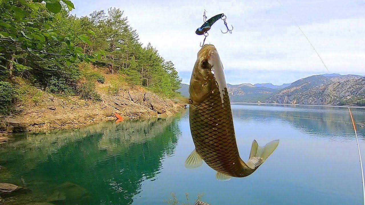 Stresten Uzak Muhteşem Doğada En Kolay Balık Yakalama Şekli !!