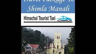 Travel Package To Shimla Manali